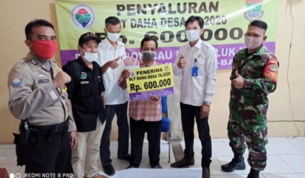 Pemerintah Desa Kebon Cau Salurkan 204 KK Penerima BLT Dana Desa Tahap I Tahun 2020